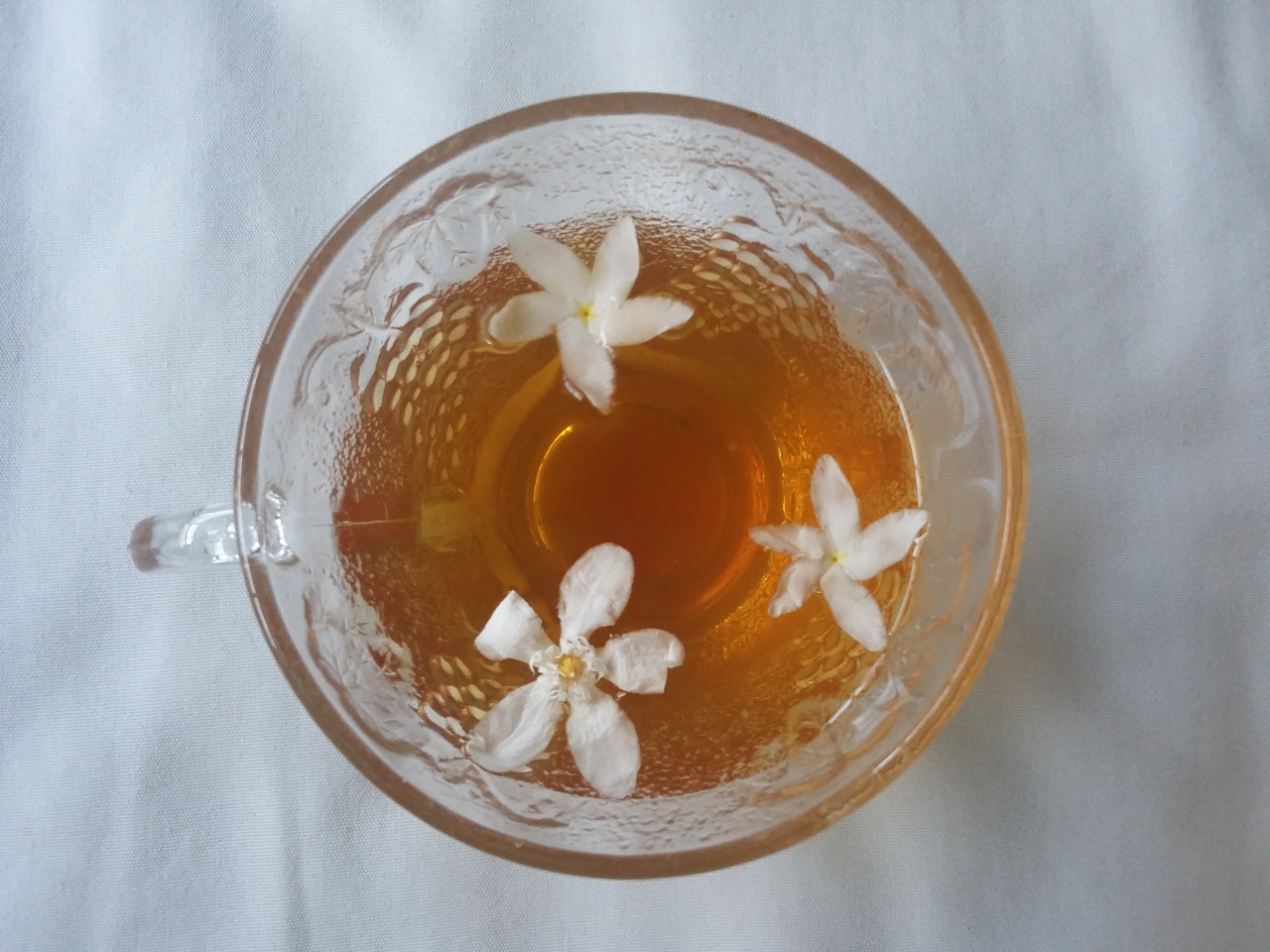 flowers, tea, and drink image