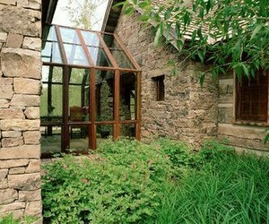 architecture, atrium, and cottage image