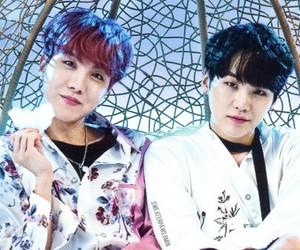 jhope, bts, and suga image