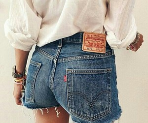 girl, jeans, and levis image