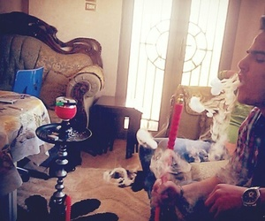 home, smoking, and معسل image