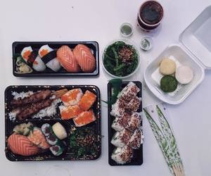 japanese food, sushi, and asian food image