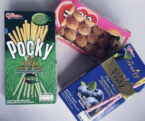 pocky, japanese candy, and asian snacks image