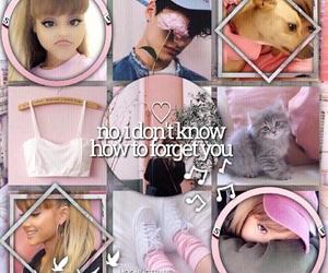 edit, pink, and ariana image