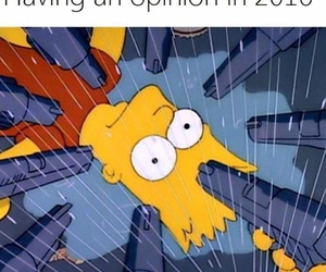 funny, 2016, and simpsons image