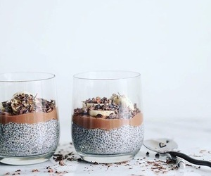 food, healthy, and chia pudding image