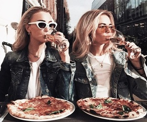 aesthetic, champagne, and food image