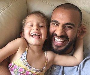 daughter, family, and badr hari image