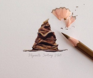 art, harry potter, and Paper image