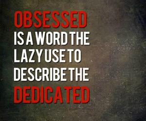 quote, fitness, and obsessed image