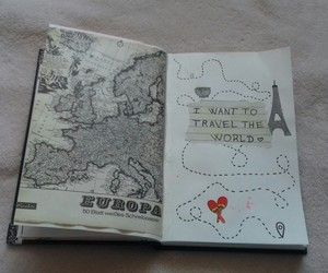 europe, travel, and wreck this journal image