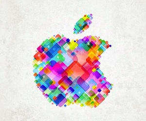 apple and colorful image