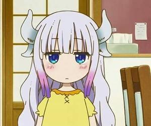 anime, dragon, and kanna image