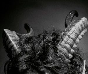 horns, aesthetic, and dark image