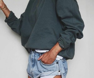 cardigan, jeans, and outfit image