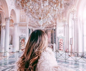girl, luxury, and pink image