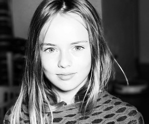 beautiful, black and white, and kid image