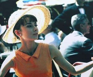 audrey, Breakfast at Tiffany's, and cigarette image