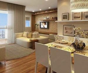 apartment, home, and interior image