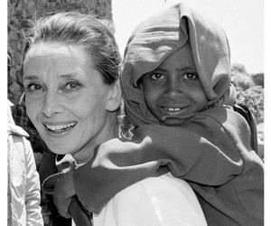 audrey hepburn, beautiful, and UNICEF image