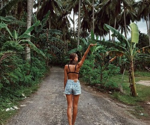 girl, nature, and summer image