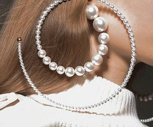 fashion, style, and pearls image