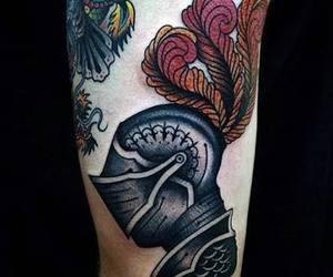 tattoo and warrior image