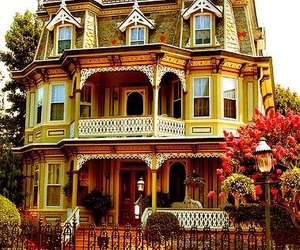 house, victorian, and architecture image