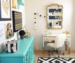 room, decor, and decoration image