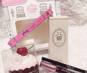 cake, etude house, and pink image