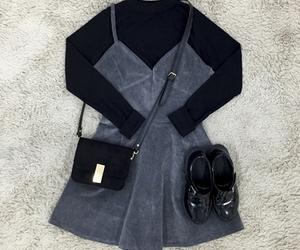 dress, korean style, and korean fashion image
