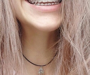beutiful, braces, and smile image