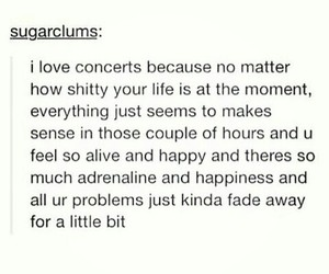 concert, happy, and quotes image
