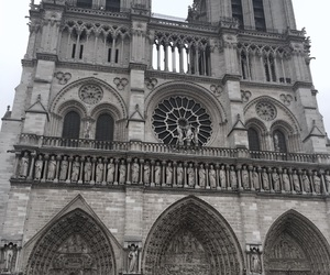 france, travel, and notredame image