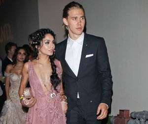 vanessa hudgens, couple, and dress image