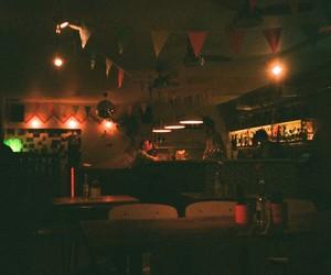 cafe, vintage, and evening image