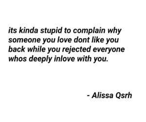 inlove, quotes, and rejected image