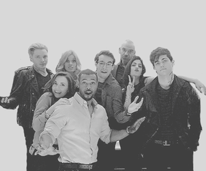 shadowhunters, cast, and clary fray image