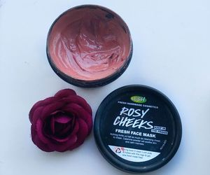face mask, rose, and skin care image