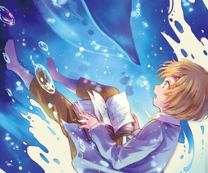armin, attack on titan, and blue image