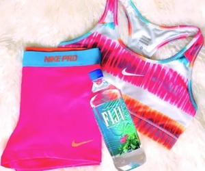 fitness, nike, and outfits image