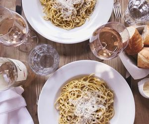 pasta, foodporn, and cheese image
