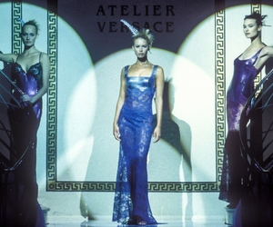 Amber Valletta, supermodel, and Versace image