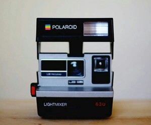 polaroid, camera, and photography image