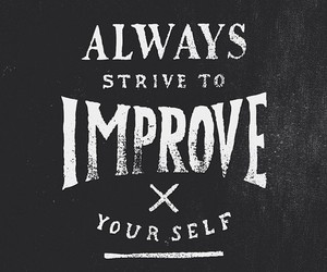 quote, improve, and inspiration image