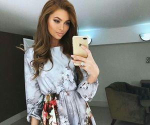 dress, fashion, and makeup image
