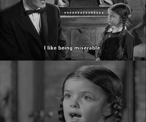 quotes, addams family, and funny image