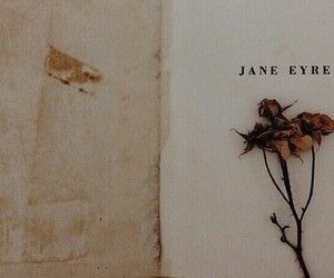 book, jane eyre, and old book image