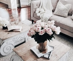 home, flowers, and interior image