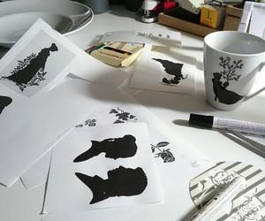 black, deko, and silhouette image